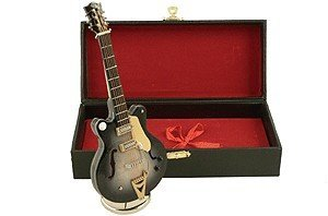 View larger image of Mini Country Classic Electric Guitar with Case - Black