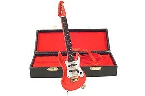 View larger image of Mini Electric Guitar with Case - Red, 7