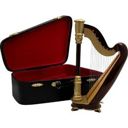 Mini Harp with Case - 9