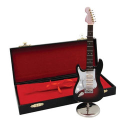 Mini Left Handed Electric Guitar with Case - 7