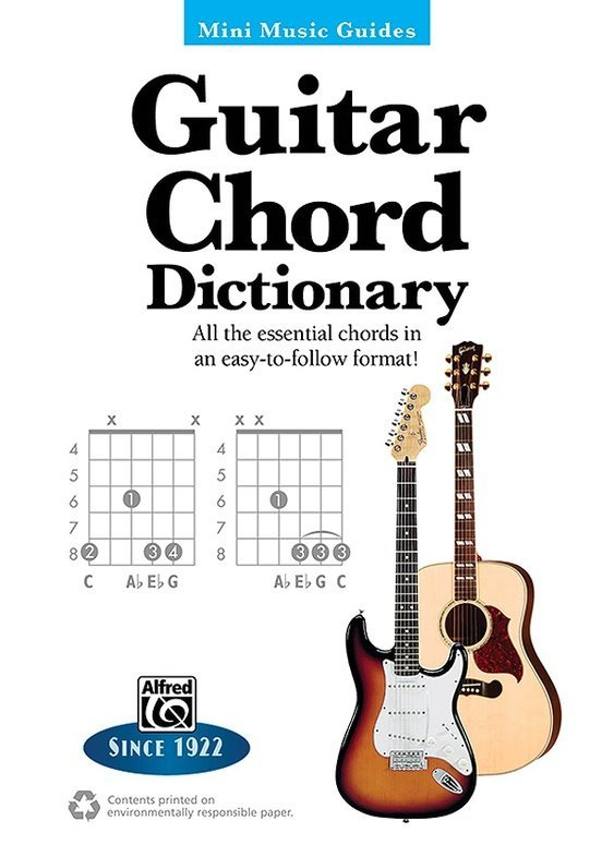 View larger image of Mini Music Guide: Guitar Chord Dictionary