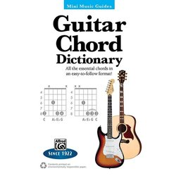 Mini Music Guide: Guitar Chord Dictionary