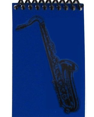 View larger image of Mini Saxophone Notebook