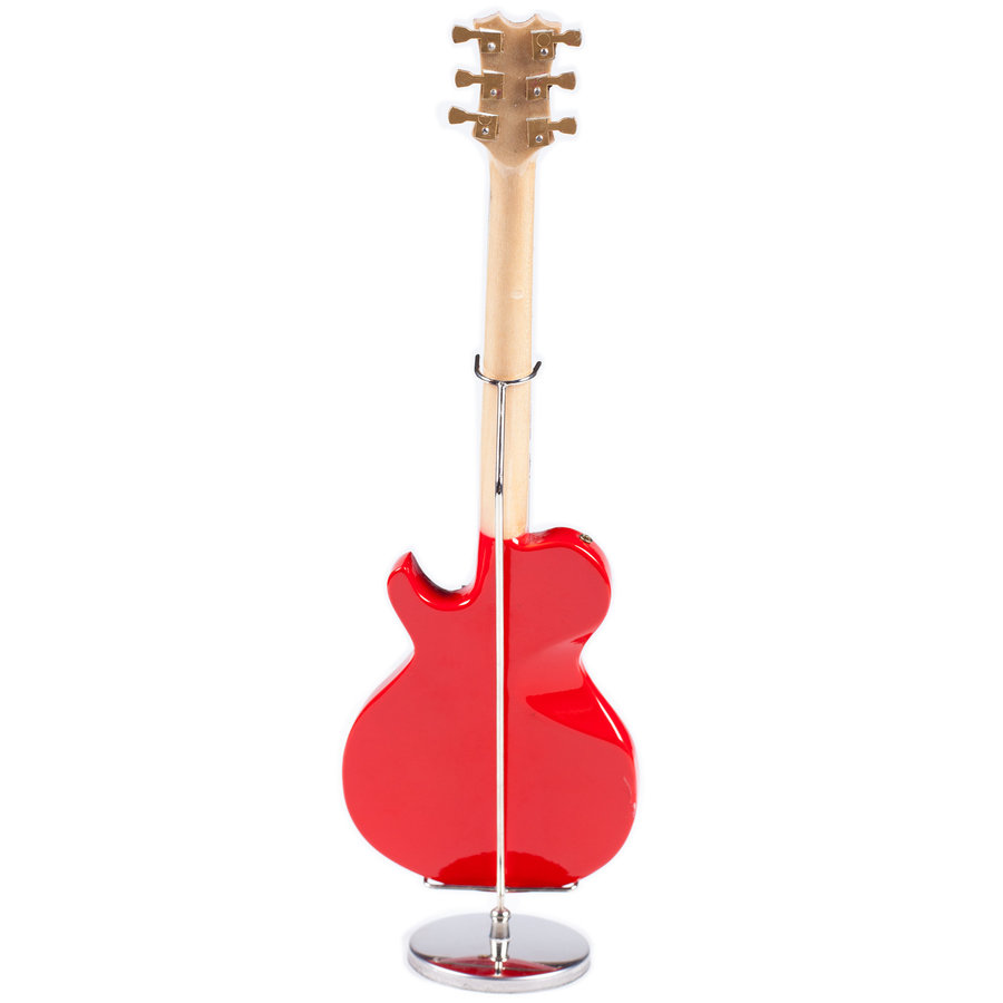View larger image of Mini Single-Cut Electric Guitar with Case - Flame, 9-1/2