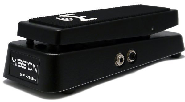 View larger image of Mission Engineering EP-25K Dual Channel 25K Expression Pedal - Black, Standard