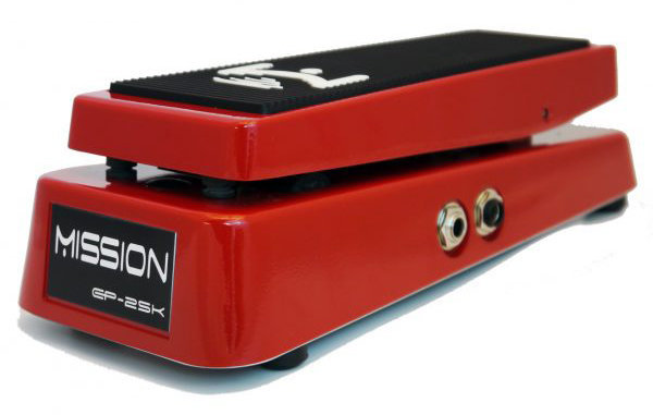 View larger image of Mission Engineering EP-25K Dual Channel 25K Expression Pedal - Red, Standard