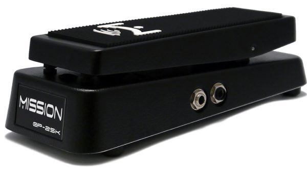 View larger image of Mission Engineering EP-25K-SPL Dual Channel 25K Expression Pedal with Spring Load - Black