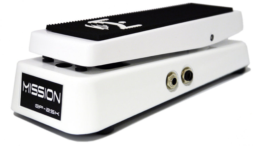 View larger image of Mission Engineering EP-25K-SPL Dual Channel 25K Expression Pedal with Spring Load - White