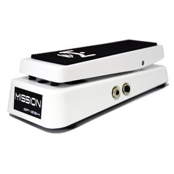 Mission Engineering EP-25K-SPL Dual Channel 25K Expression Pedal with Spring Load - White