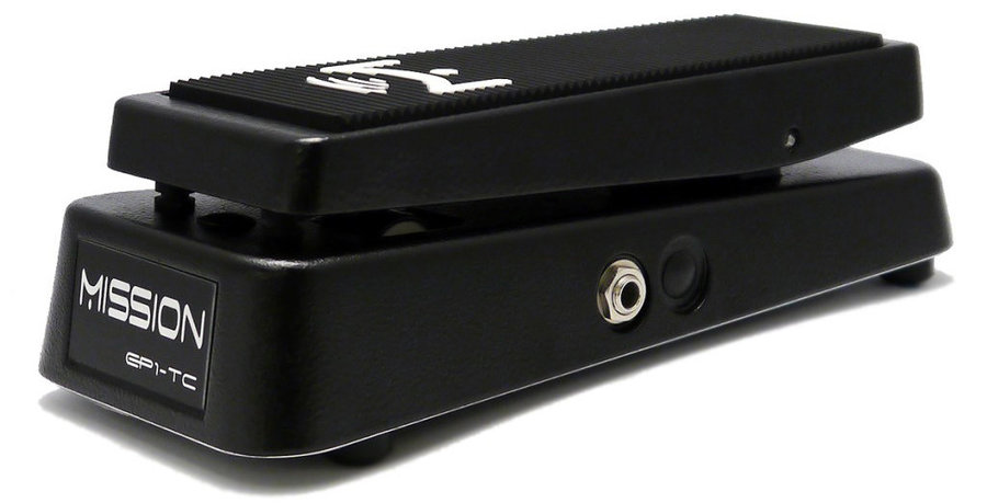 View larger image of Mission Engineering EP1-TC G-System Expression Pedal - Spring, Black