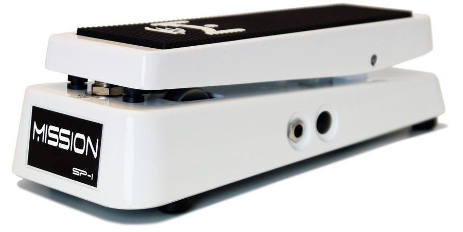 View larger image of Mission Engineering SP-1-CB-WH Chris Broderick Special Edition Switching Expression Pedal with LED - White