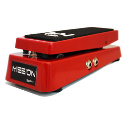Mission Engineering SP-1-RD-SPL Expression Pedal with Spring Load - Red