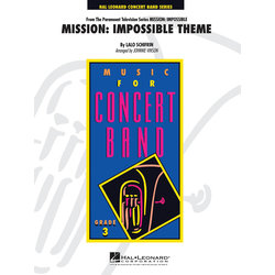Mission: Impossible Theme - Score & Parts, Grade 3