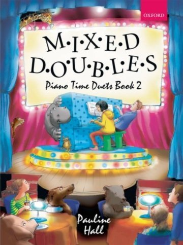 View larger image of Mixed Doubles Piano Time Duets Book 2 (1P4H)