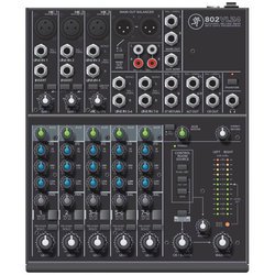 Mackie 802VLZ4 8-Channel Analog Mixer