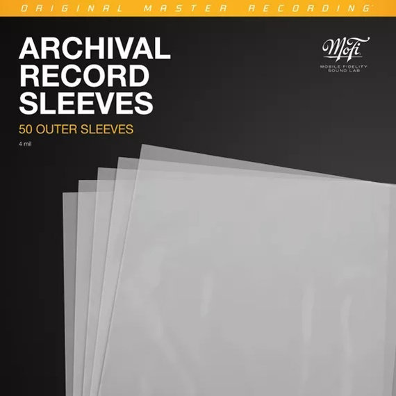 View larger image of Mobile Fidelity Archival Outer Record Sleeves - 50 Pack