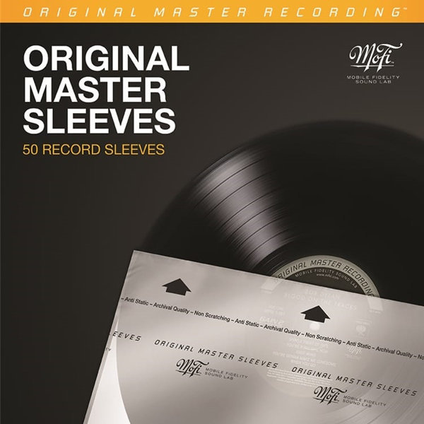 View larger image of Mobile Fidelity Original Master Inner Record Sleeves - 50 Pack