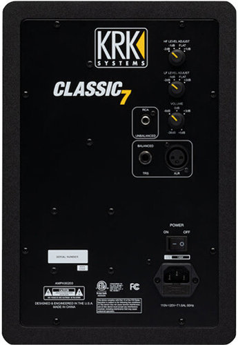 """View larger image of KRK Classic Powered Studio Monitor - 7"""""""