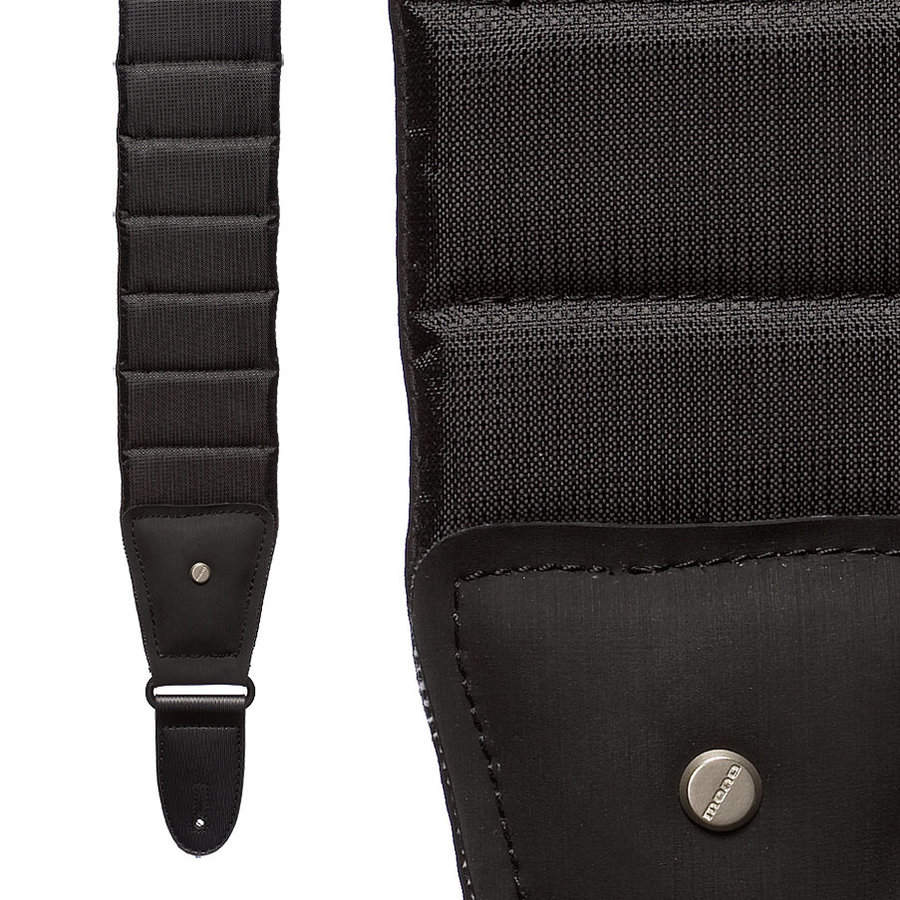 View larger image of Mono The Betty Guitar Strap - Jet Black, Long, 47-59