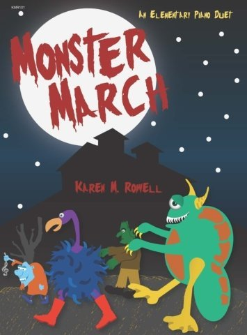 View larger image of Monster March - Piano Duet (1P4H)