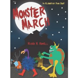 Monster March - Piano Duet (1P4H)