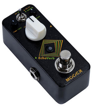 View larger image of Mooer EchoVerb Digital Delay and Reverb Pedal
