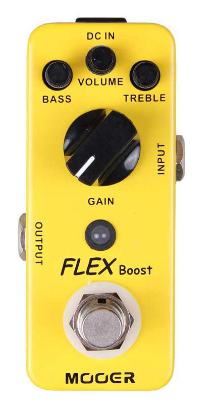 View larger image of Mooer Flex Boost Pedal