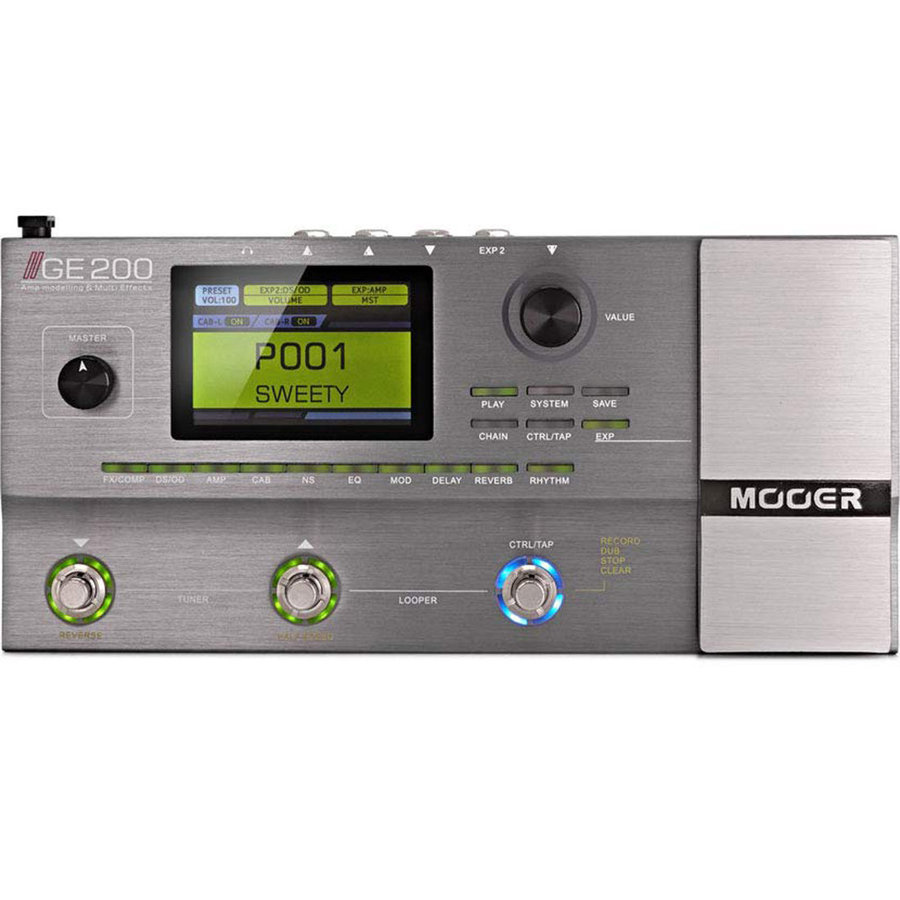View larger image of Mooer GE200 Multi-Effects Pedal