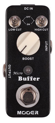 View larger image of Mooer Micro Buffer Pedal