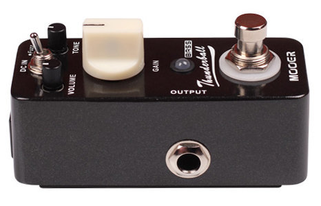 View larger image of Mooer Thunderball Bass Fuzz Pedal