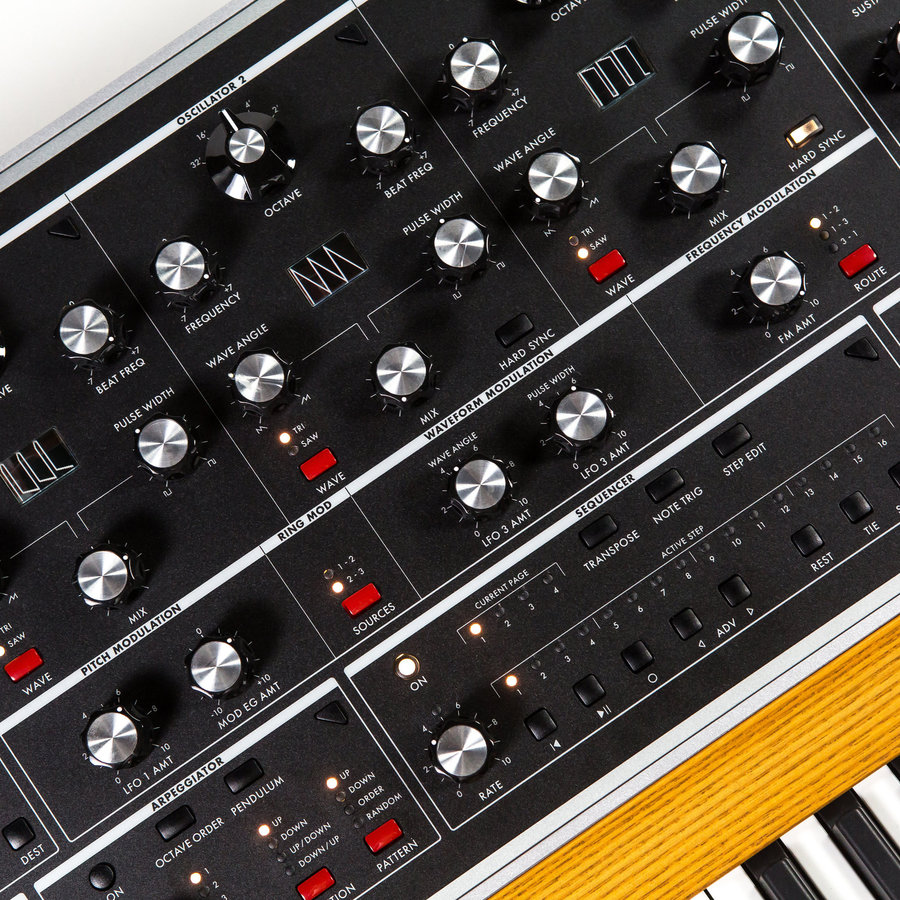 View larger image of Moog One Polyphonic Analog Synthesizer - 8-Voice