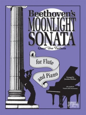 View larger image of Moonlight Sonata (Beethoven) for Flute & Piano