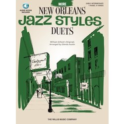 More New Orleans Jazz Style Duets w/Online Audio (1P4H)