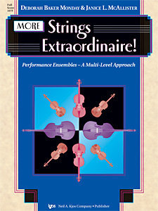 View larger image of More Strings Extraordinaire - Score