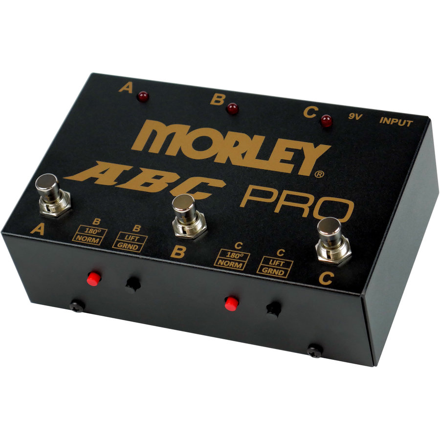 View larger image of Morley ABC Pro Selector Pedal