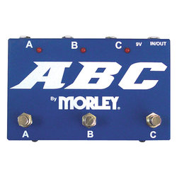 Morley ABC Selector/Combiner Switch Pedal