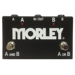 Morley Pedals  ABY Selector/Combiner Switch