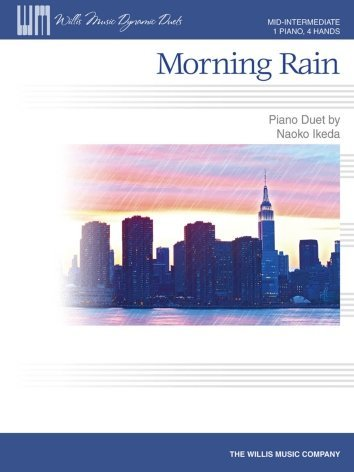 View larger image of Morning Rain - Piano Duet (1P4H)