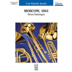 Moscow 1941 - Score & Parts, Grade 2.5