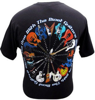 View larger image of Most Guitars Wins T-Shirt - XL