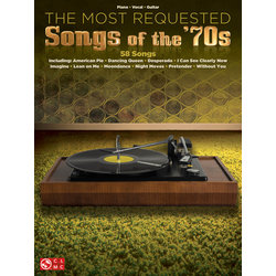 Most Requested Songs of the 70s, Book for Piano/Vocal/Guitar