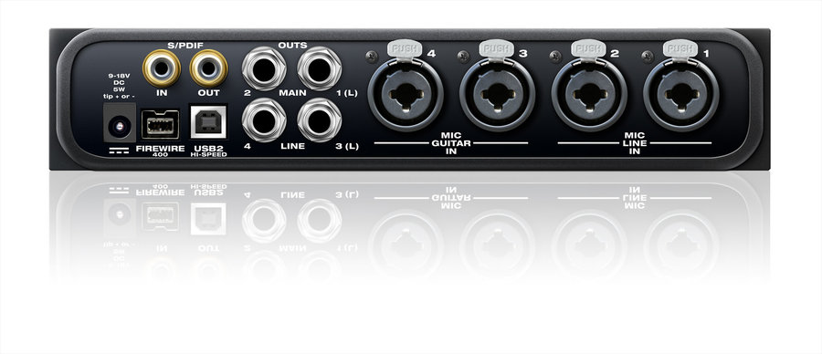 View larger image of Motu 4pre Compact Audio Interface