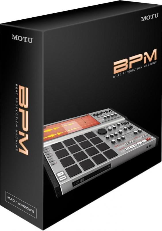 View larger image of Motu BPM 1.5 Rhythm Production Instrument for Mac and Windows