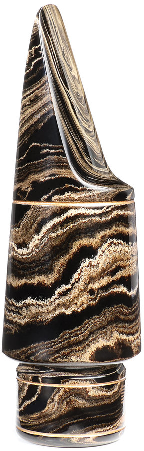 View larger image of D'Addario Select Jazz Tenor Saxophone Mouthpiece - D9, Marble