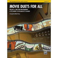 Movie Duets for All - Alto Sax