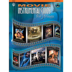 Movie Instrumental Solos for Strings w/CD - Cello