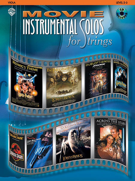View larger image of Movie Instrumental Solos for Strings w/CD - Viola