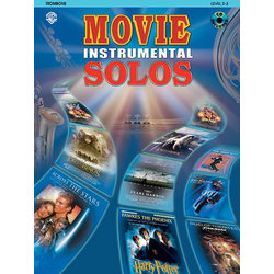 Movie Instrumental Solos - Trombone w/CD