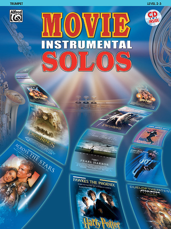 View larger image of Movie Instrumental Solos - Trumpet w/CD
