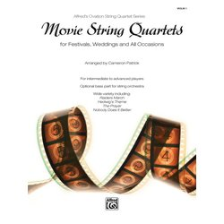 Movie String Quartets for Festivals, Weddings, and All Occasions - Violin 1